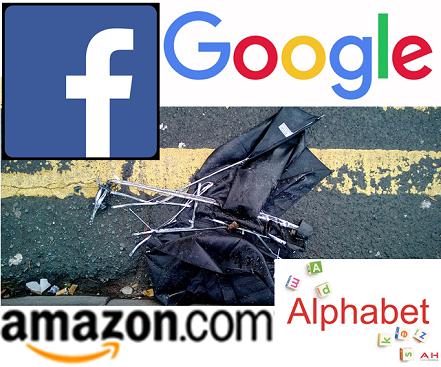 Facebook, Google and Amazon